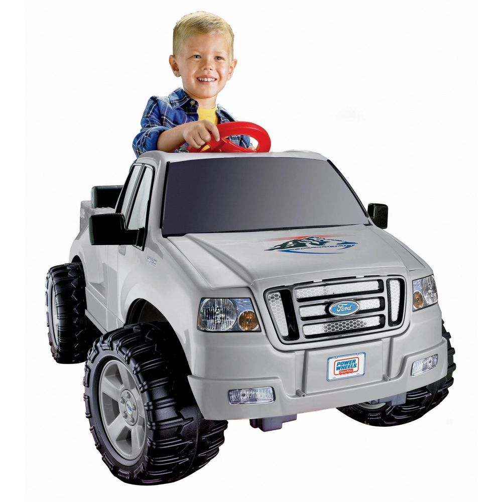 Power Wheels Lil Ford F 150 6v Battery Powered 1 Speed Plus