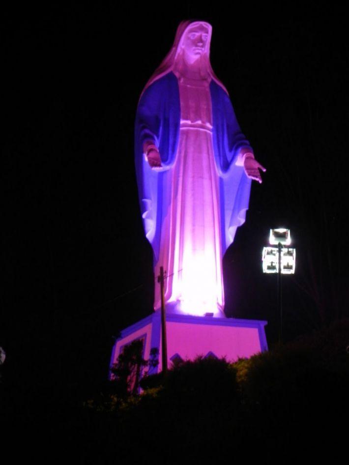 A imagem de Nossa Senhora das Graças. Projeto que cria e regulamenta a Comissão da Santa será readequado | Rádio Najuá - Irati