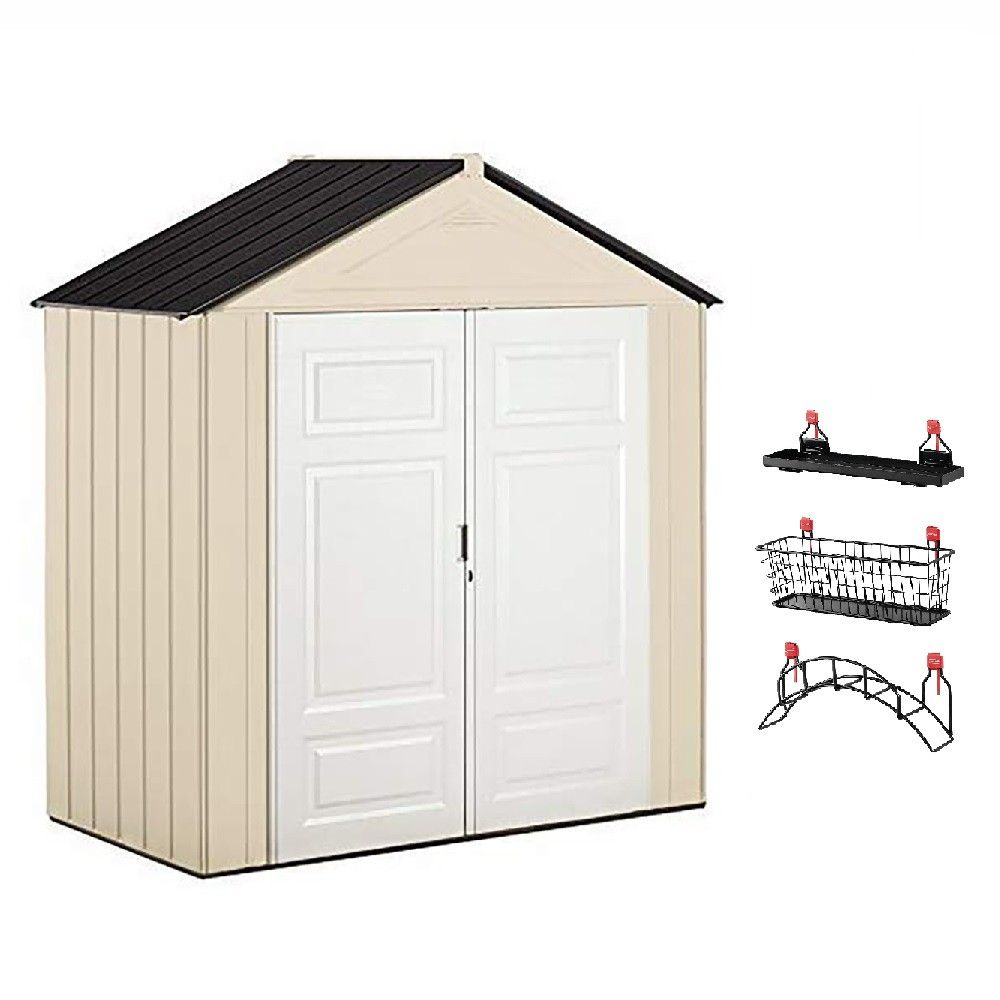 Wall Plastic Outdoor Storage Shed