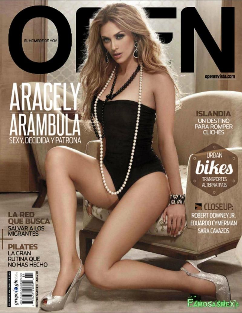 aracely arámbula revista open [preview] | latinas | pinterest