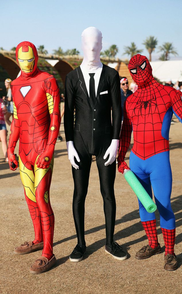 Masked Men from Best Looks Ever at Coachella | E! Online