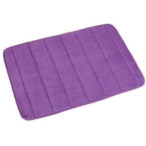 Tqp Ck Bath Mat Memory Foam Textile Bathroom Shower Mat Non Slip