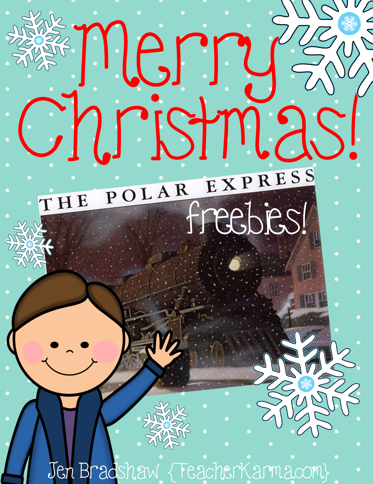 Teacher Alert Polar Express Free Printables