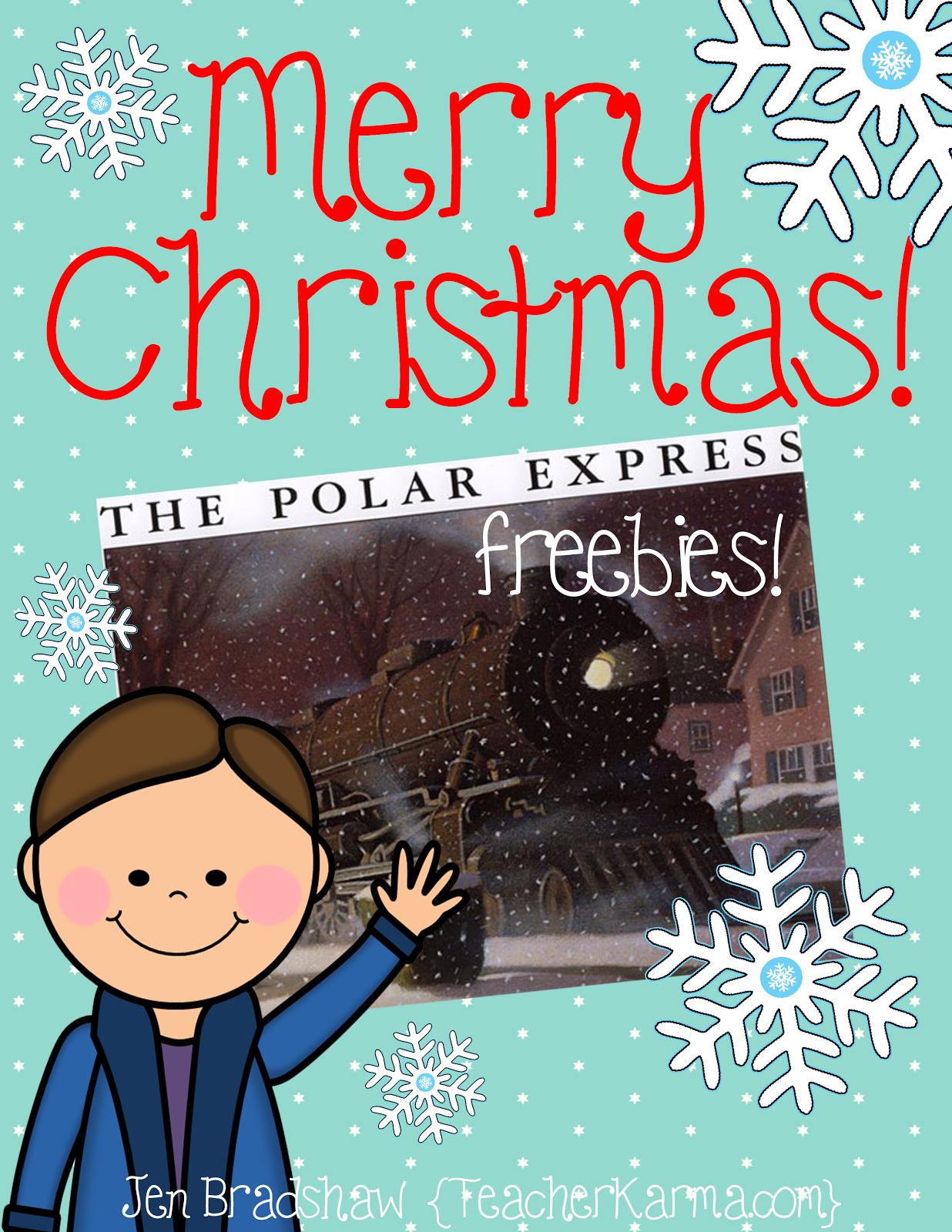 Teacher Alert Polar Express Free Printables