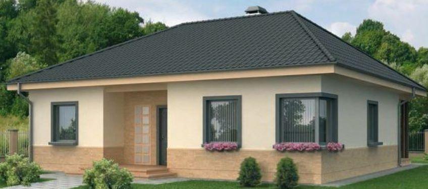 Fachada casas teja cantera ideas para dormitorios for Fachada de casas modernas con tejas