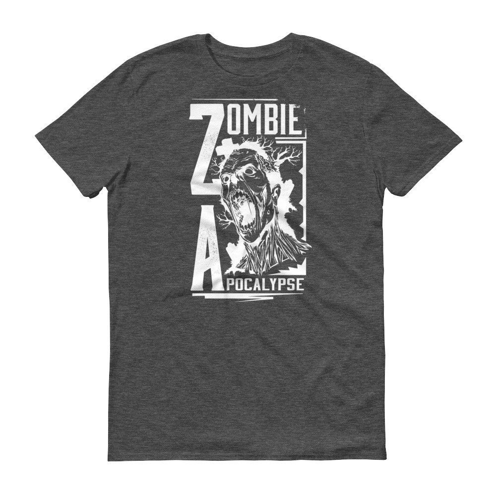 Zombie Apocalypse Short Sleeve T-Shirt