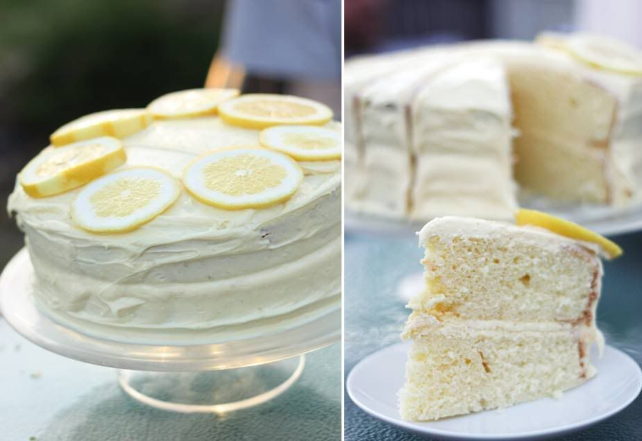 This lemon-orange chiffon cake is the perfect cake for spring. Delicious. Via Eat Drink Pretty