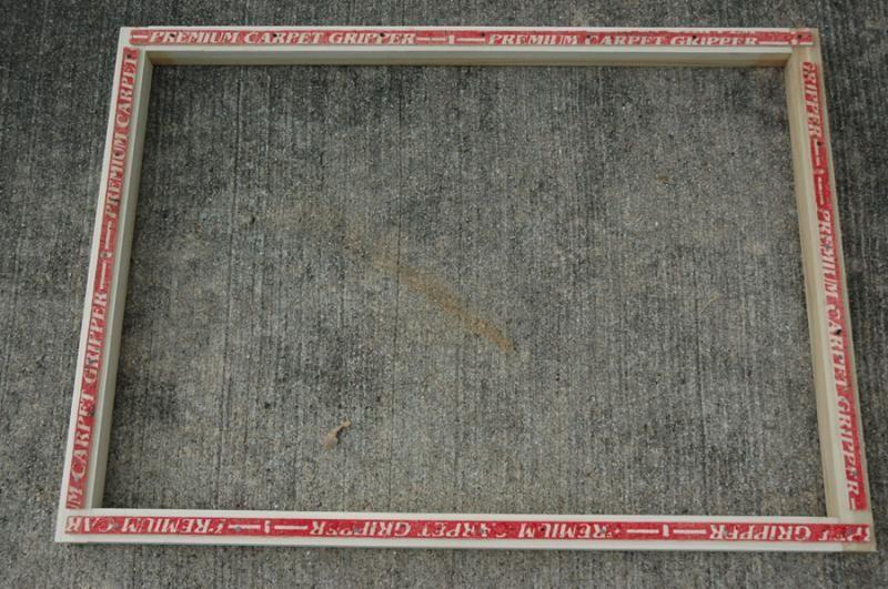 DIY rug frame -Southern Hills Designs - Rug Punch Frame Help