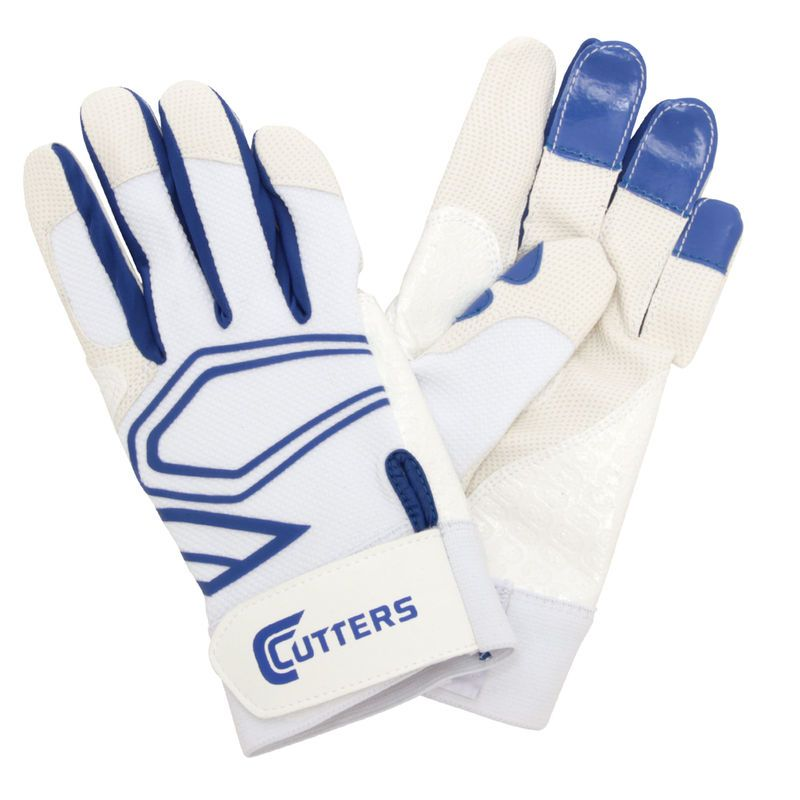 Lead Off Batting Glove - White/Royal