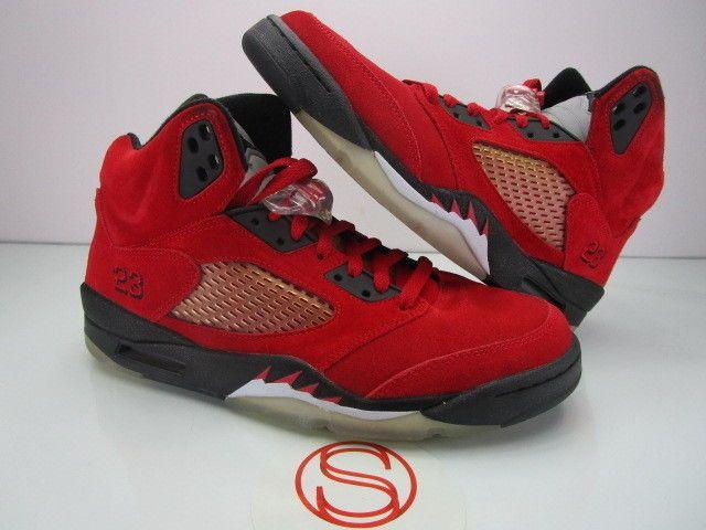 545bdcd9f709f Details about Men's Nike Air Jordan V 5 5s Retro 2009 Red Raging ...