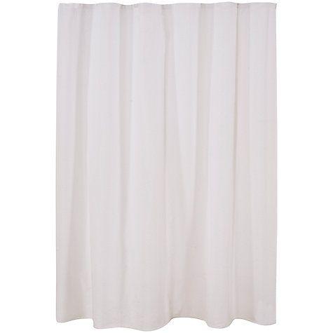 Croft Collection Seersucker Shower Curtain Curtains Shower