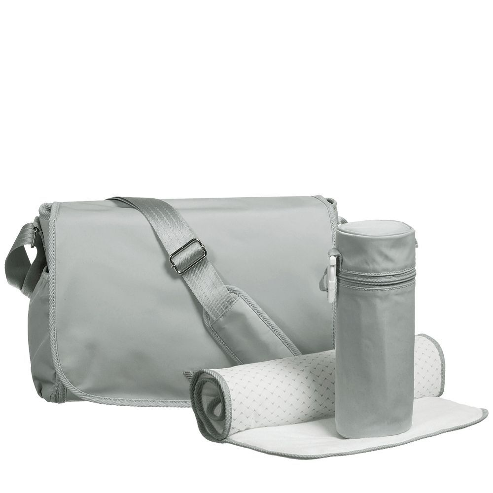 c682f6c0bc8e5 Armani Baby - Grey Baby Changing Bag (36cm) | Childrensalon | Lex ...