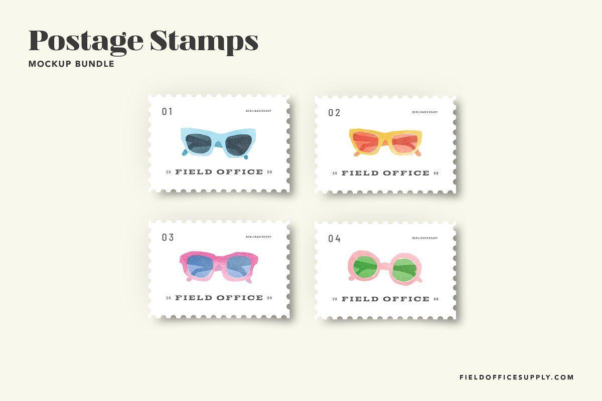 Postage Stamp Mockup Bundle Sponsored Bundle Scene Mockup Postage Stationery Mockup Printed Backgrounds Instagram Mockup