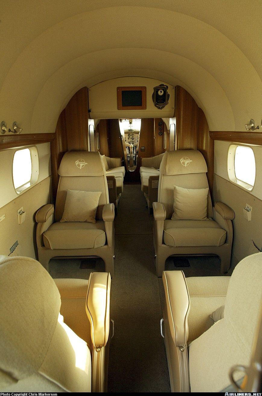 Grumman Mallard Interior Flying Boat Sea Plane