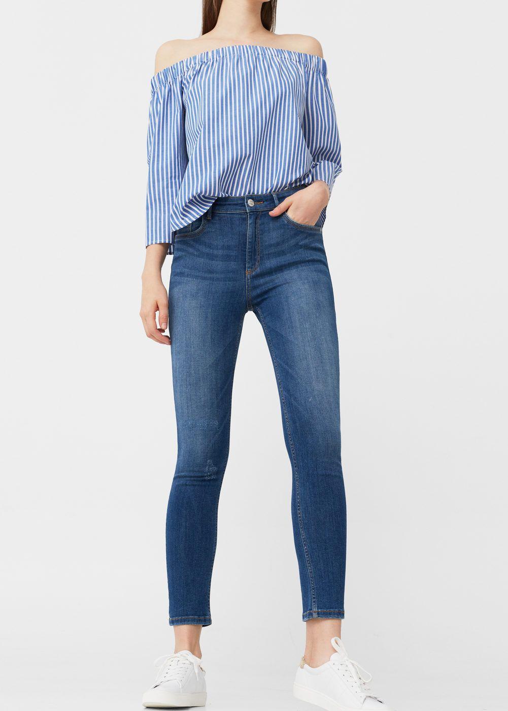0215de365 Skinny noa jeans - Woman | DENIM EFECTOS Y LAVADOS | Pantalones ...