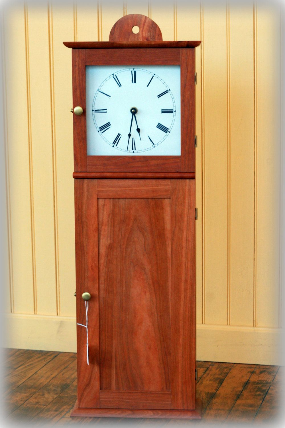 Arts and crafts mantle clock - Shaker Wall Clock By Tkellyfurniture On Etsy Via Etsy