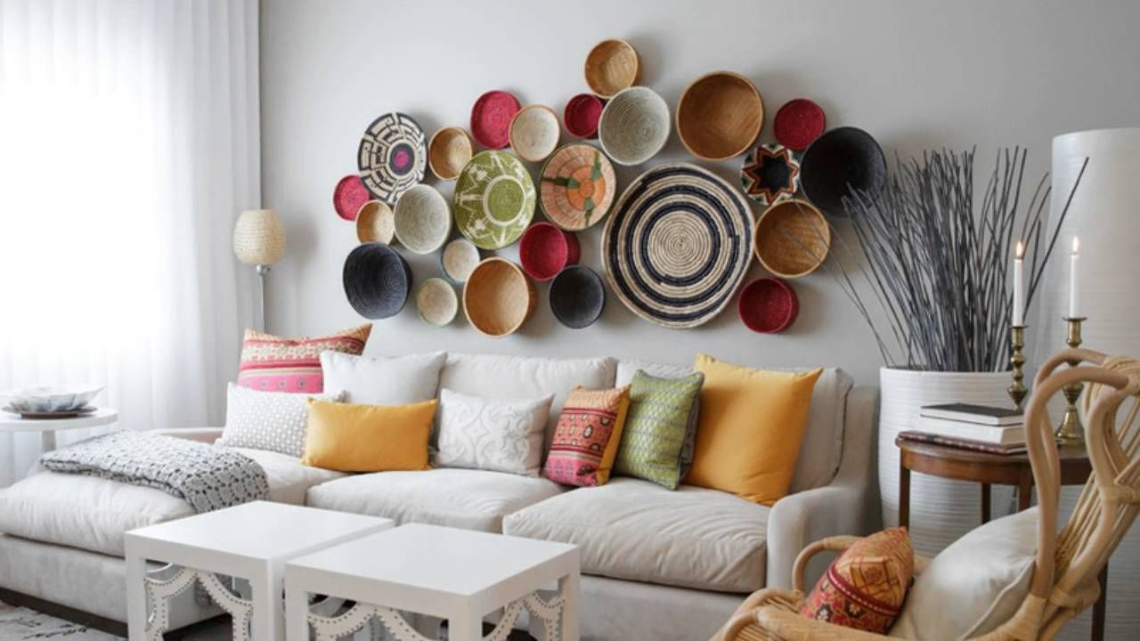 Living Room Wall Decor For A Vibrant Environment Creative Living Room Wall Decor Ideas Snawrdi Room Wall Decor Wall Decor Living Room Moroccan Living Room