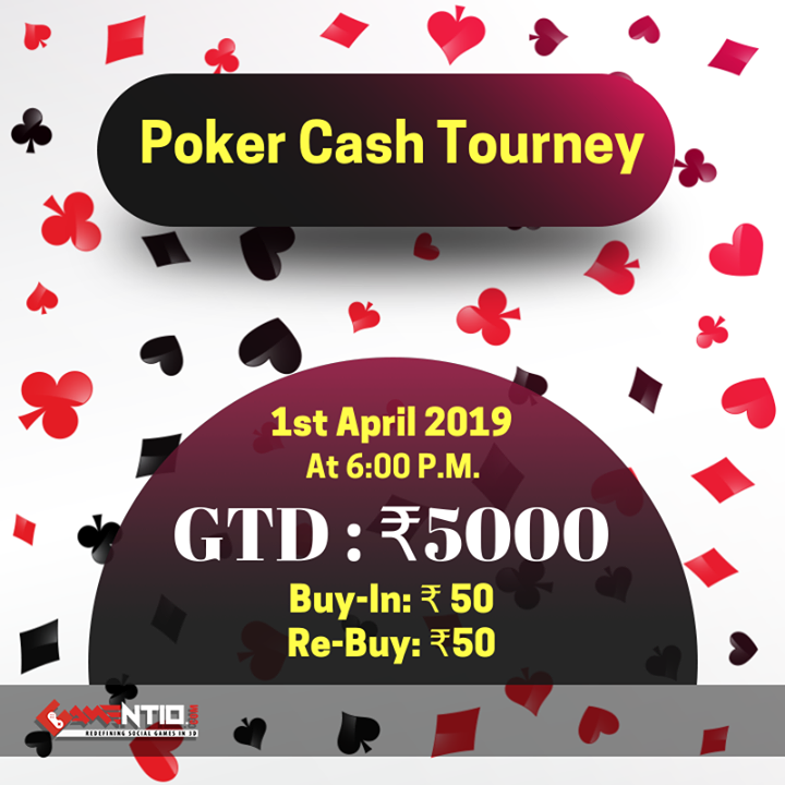 """Get ready for an actionpacked """"Poker Cash at 6 P.M"""