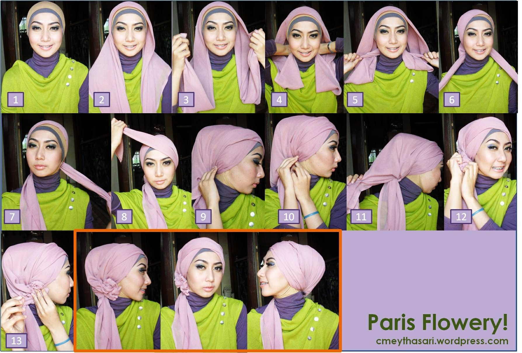 1000 Images About Hijab Tutorial On Pinterest Shops Paris And Blog