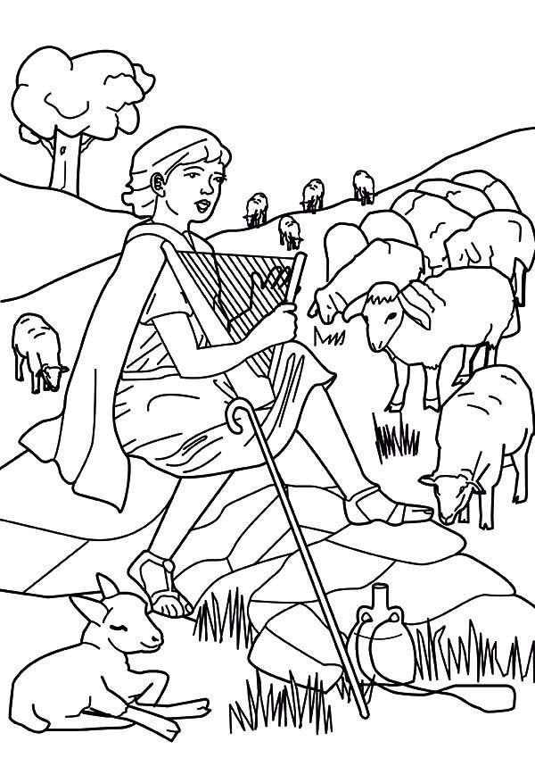 David The Shepherd Boy, : David the Shepherd Boy Beautiful