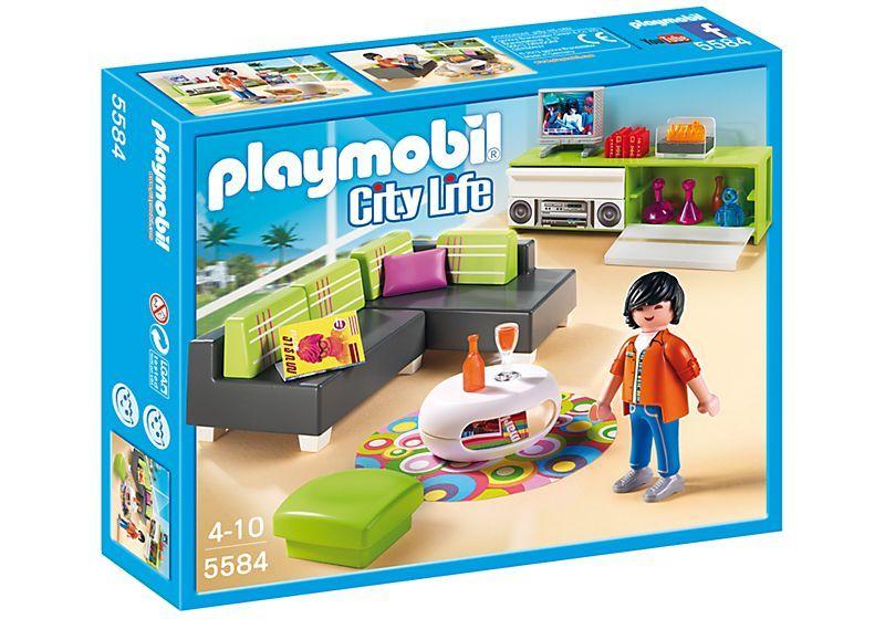 Charmant Playmobil 5584 Modern Living Room
