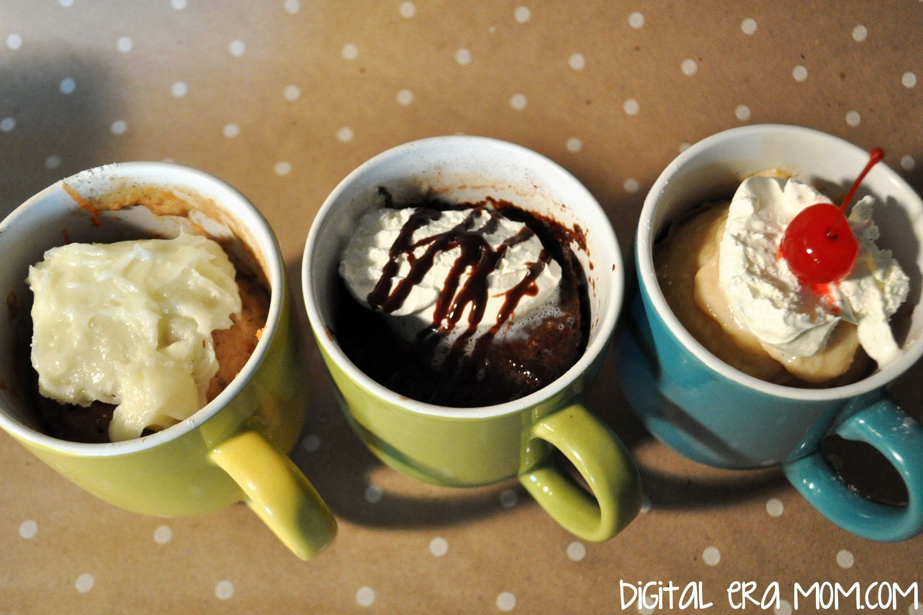 Cake In A Mug Recipes No Egg: Eggless Mug Cakes Replace Oil And Eggs With Applesauce