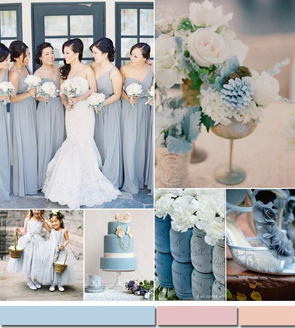 Wedding Color Ideas 2015- Celestial Blue