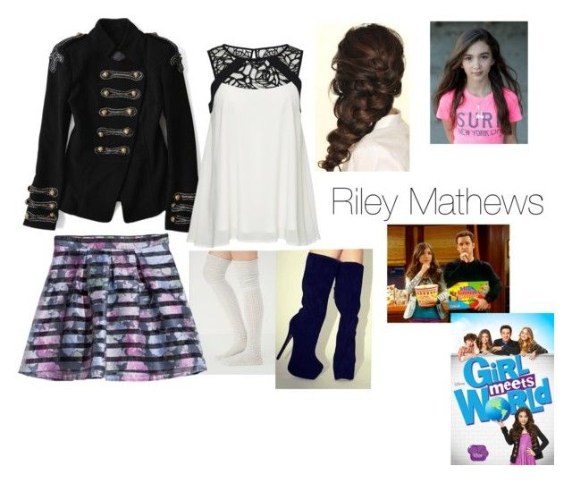 """Riley Mathews"" by agcoolgirl ❤ liked on Polyvore"