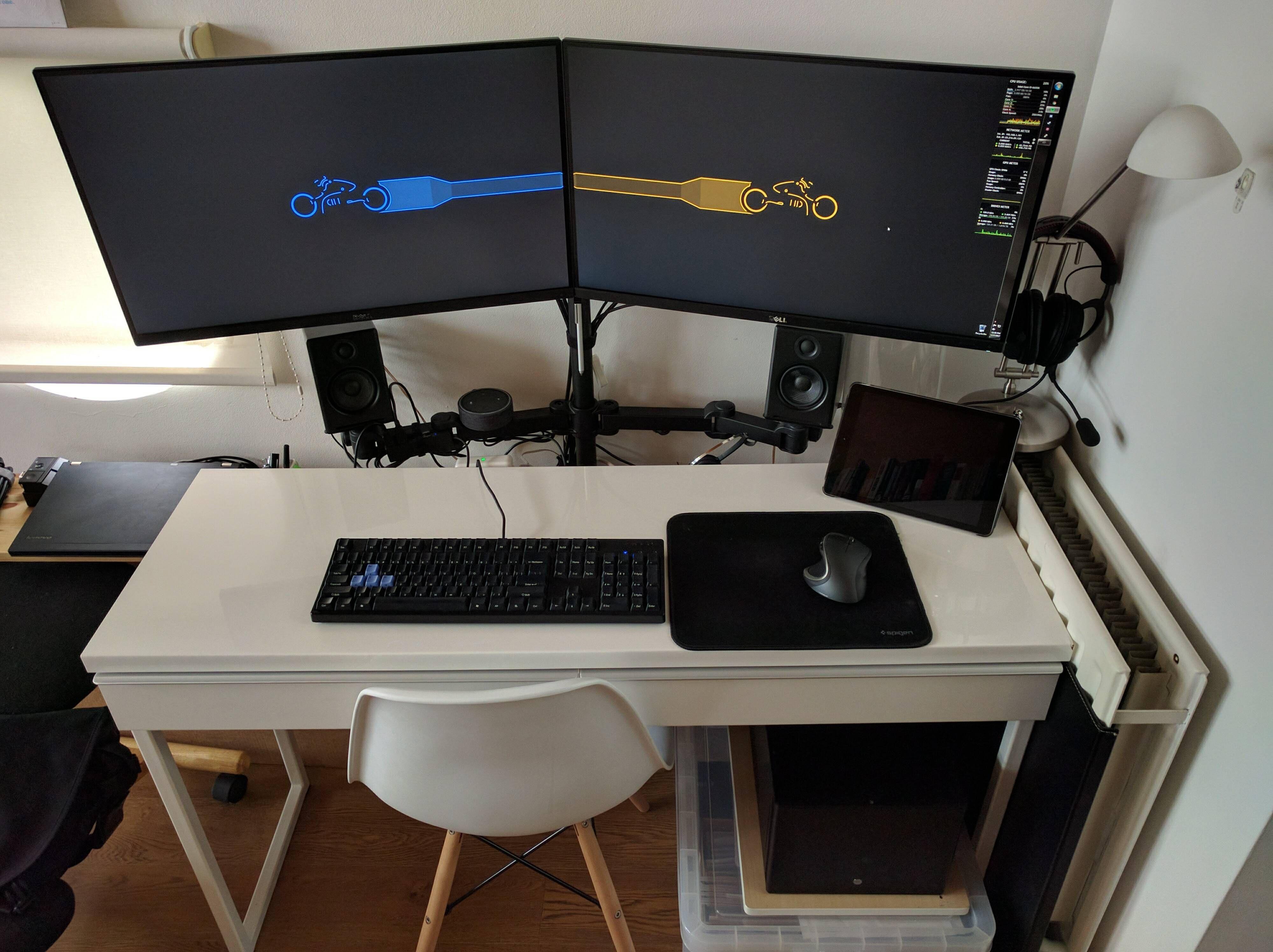 My corner in a small studio apartment