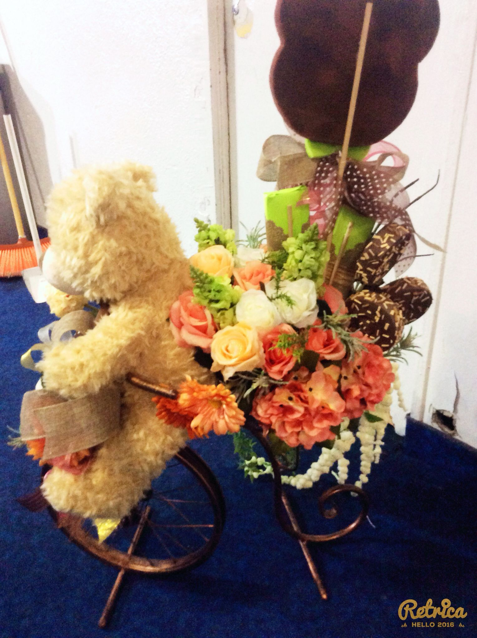 Arreglo En Bicipara Mamá Gifts Balloon Bouquet Gift