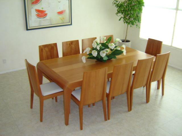 Comedor para 10 personas en madera de encino americano for Comedor 10 personas
