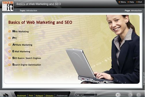 """E-Learning Course Giveaway: Win the """"Basics of Web Marketing and SEO"""" E-Learning course"""