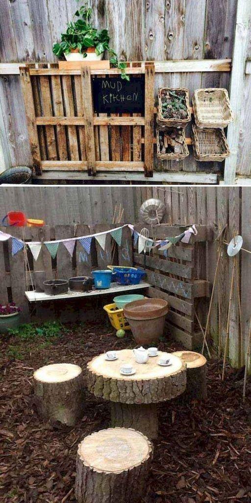 29+ Best And Fun DIY Backyard Playground Landscaping Ideas,  #Backyard #BestGardenideaslandsc... #landschaftsbauideen