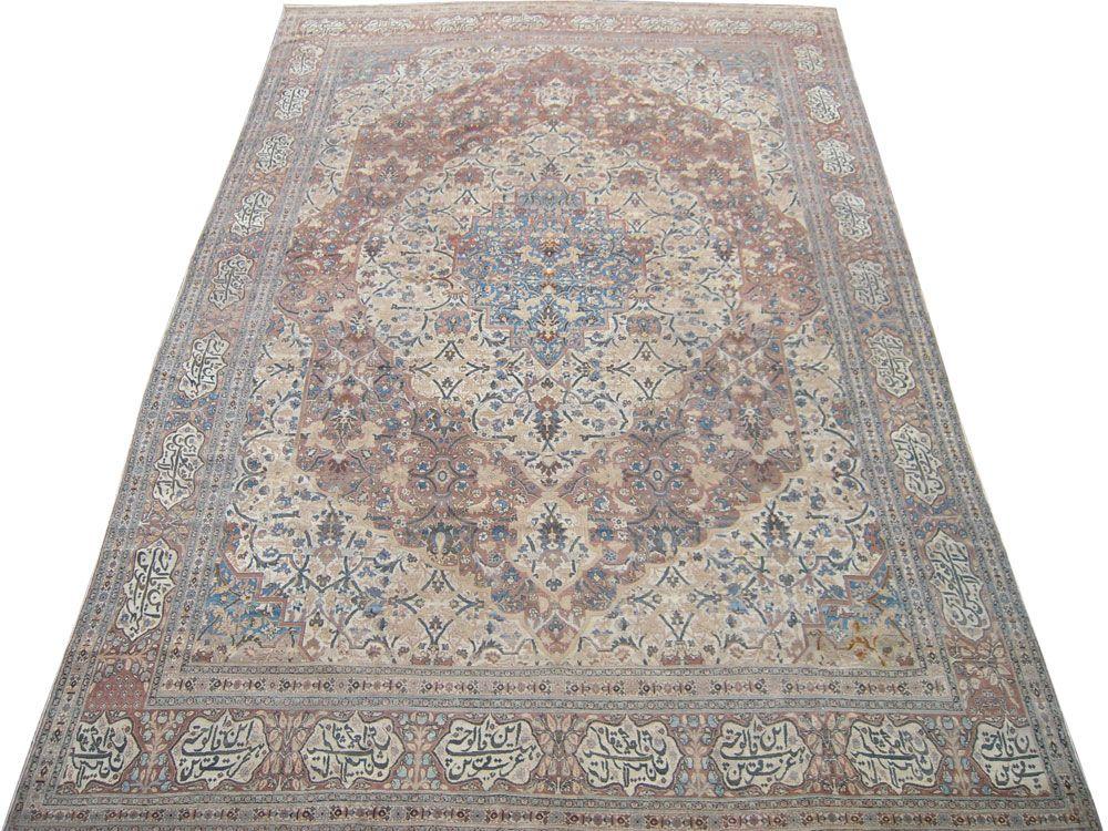Matt Camron Rugs U0026 Tapestries   Antique Collection   Antique Persian Tabriz  Hajalil Rug   16288AF
