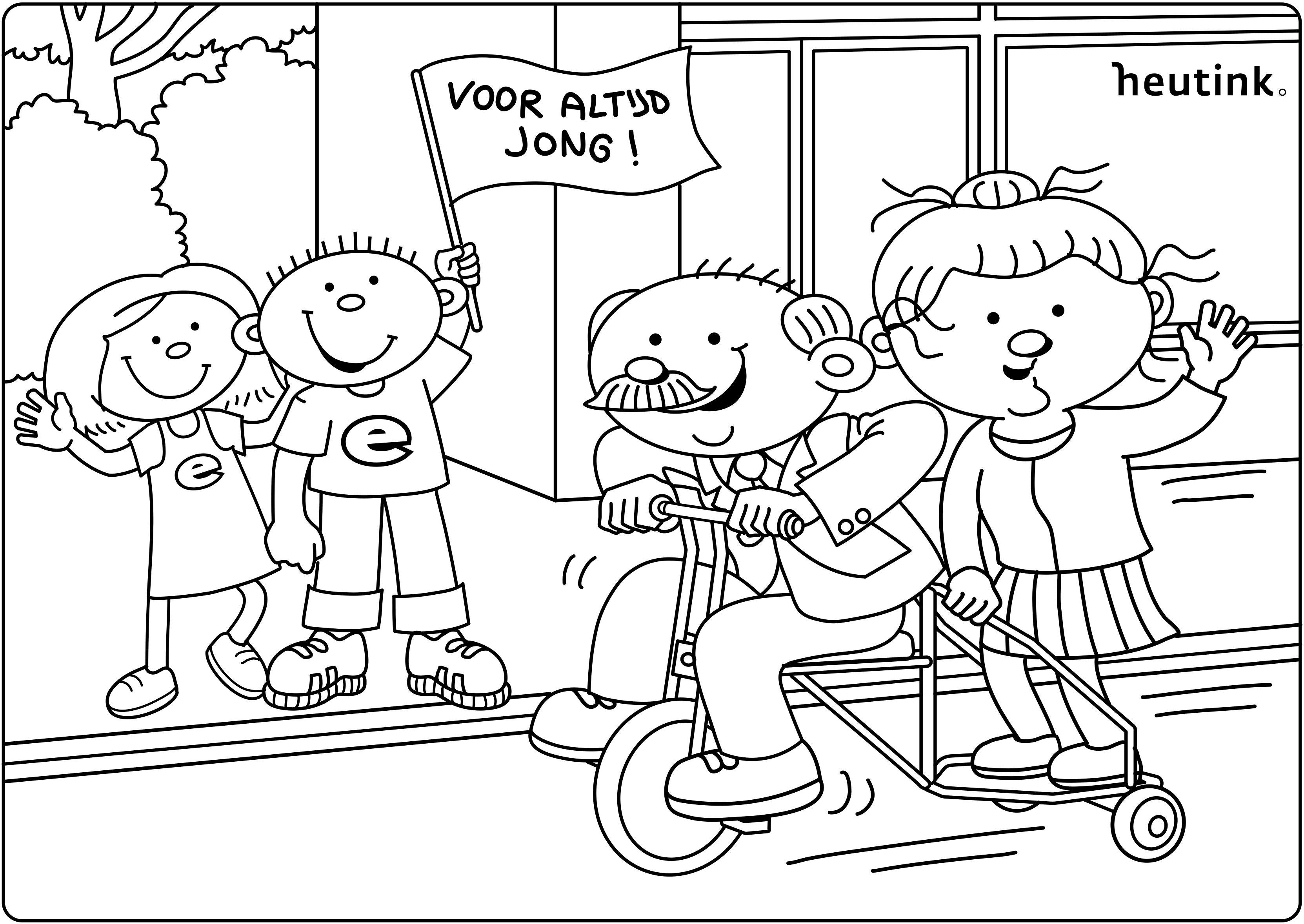Kleurplaat Kinderboekenweek Kinderboeken Jongen Kleurplaten
