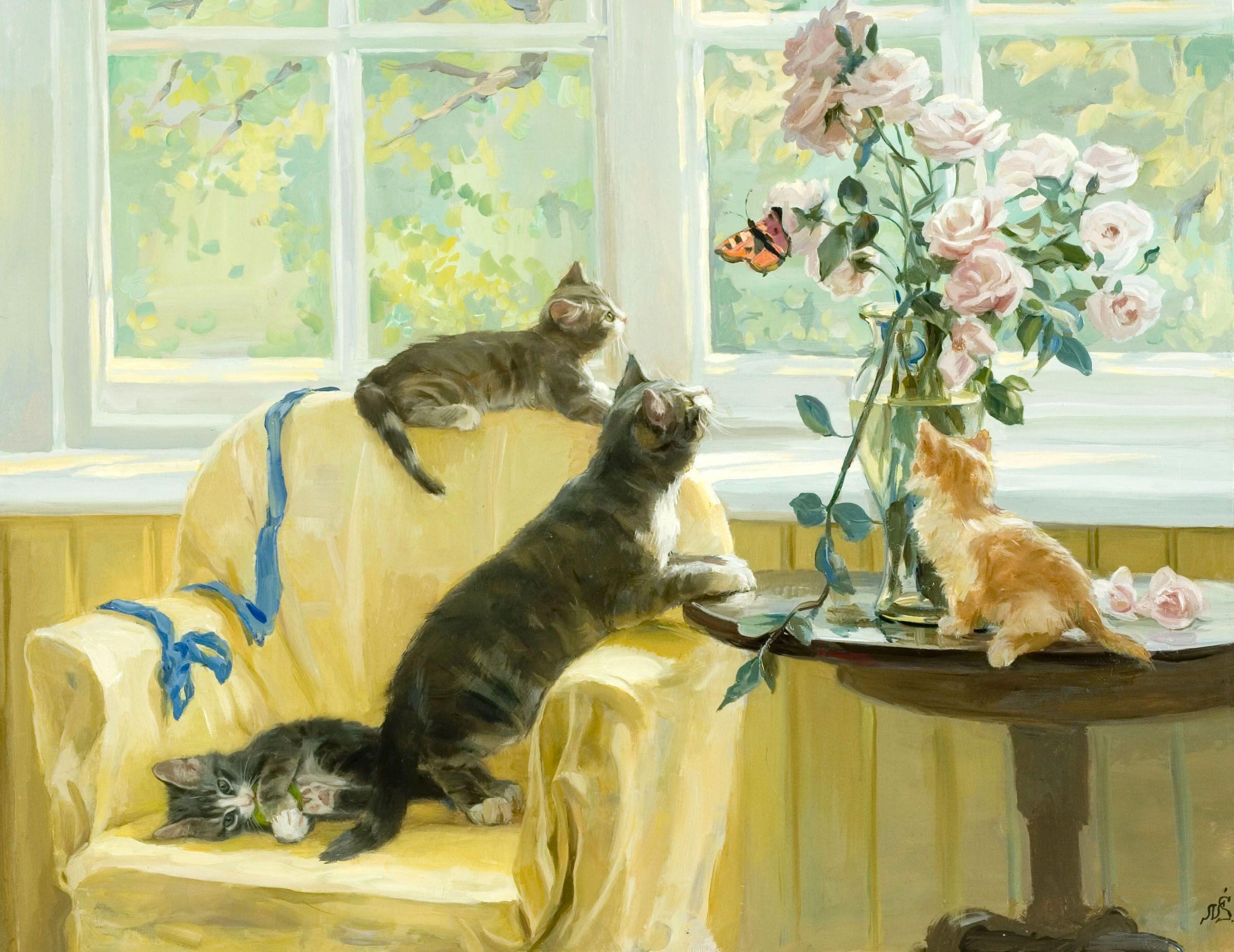 Назови известные тебе породы кошек найди их изображения открытки фото репродукции, поздравление месяцем рамадан