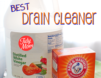 Natural Homemade Drain Cleaner Mix 1 2 Cup Baking Soda