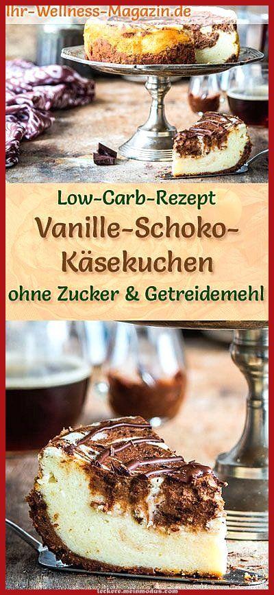 Atemberaubende Niedriger Carb Vanille-Schokoladen-Käsekuchen - zuckerfreies Rezept Atemberaubende Niedriger Carb Vanille-Schokoladen-Käsekuchen - zuckerfreies Rezept