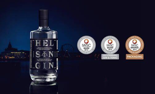 HelsinGin on uusi tulokas. > Kyrö Distillery Napue Gin