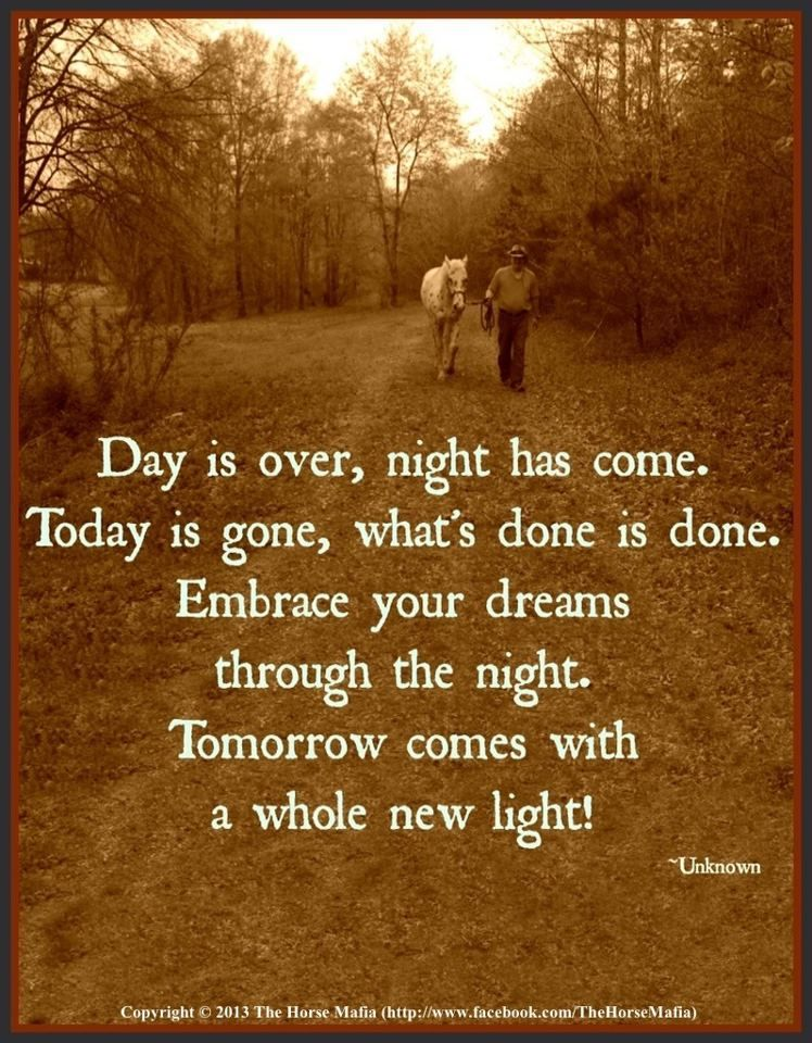 Day Is Over Beautiful Places Quotes Tomorrow Is A New Day Quotes To Live By