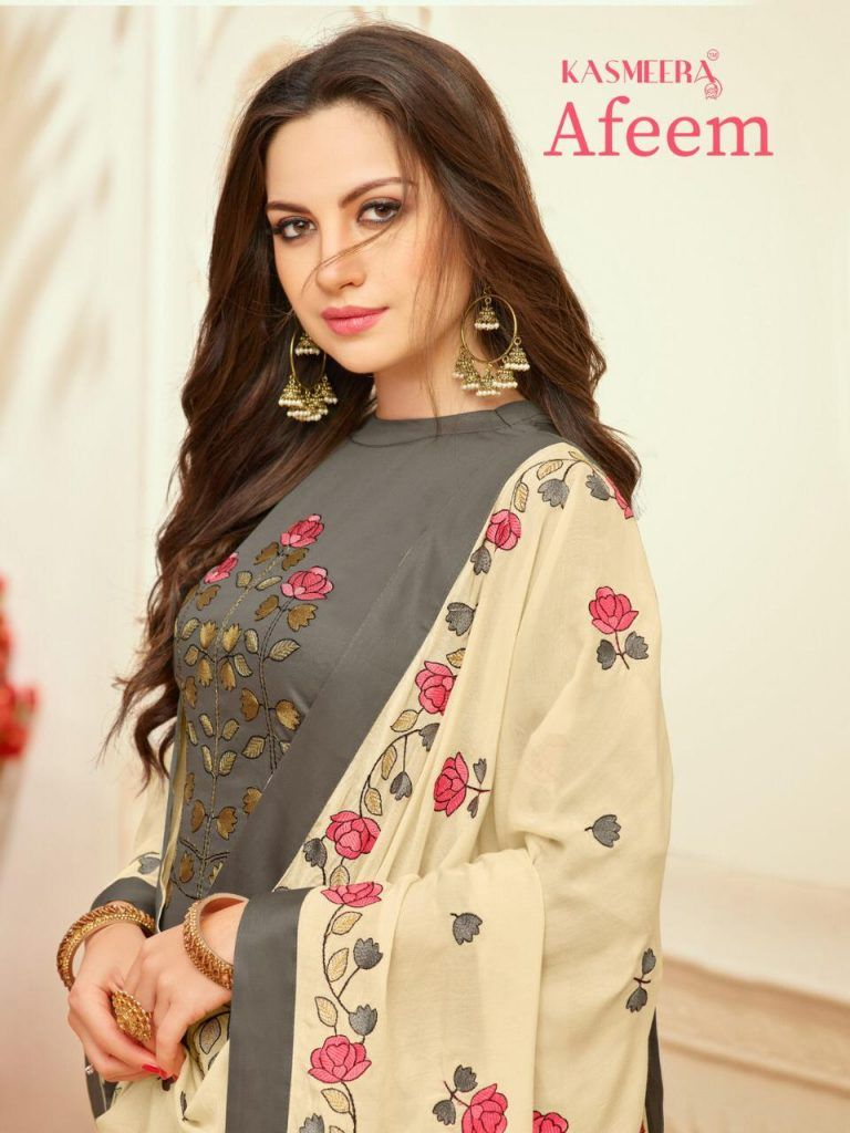 e753ccfa4a58 kasmeera afeem kayce ladies churidar suits wholesale supplier in surat -  Krishna Creation