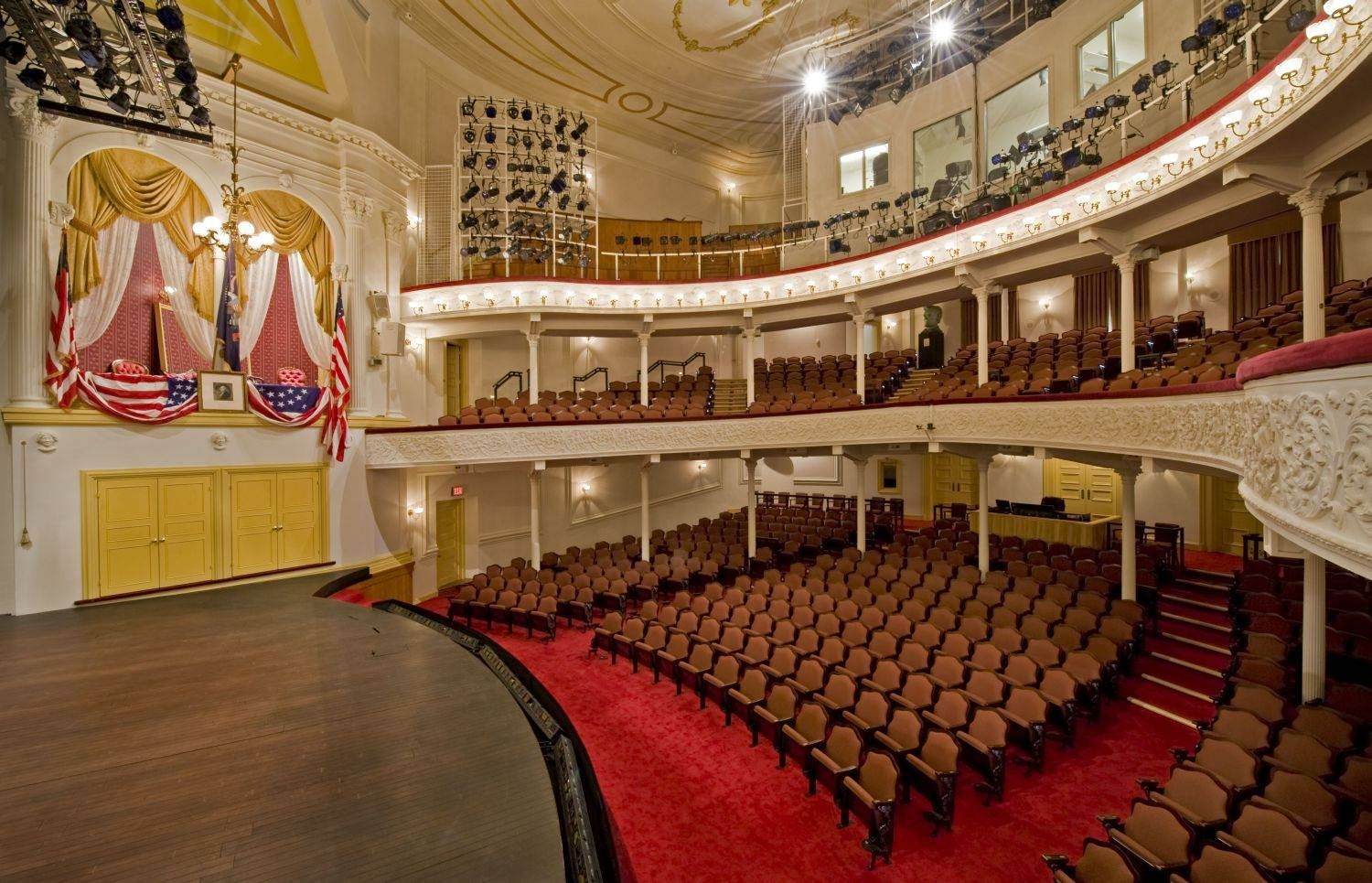 the beautiful ford's theatre in washington, dc | ford, change and