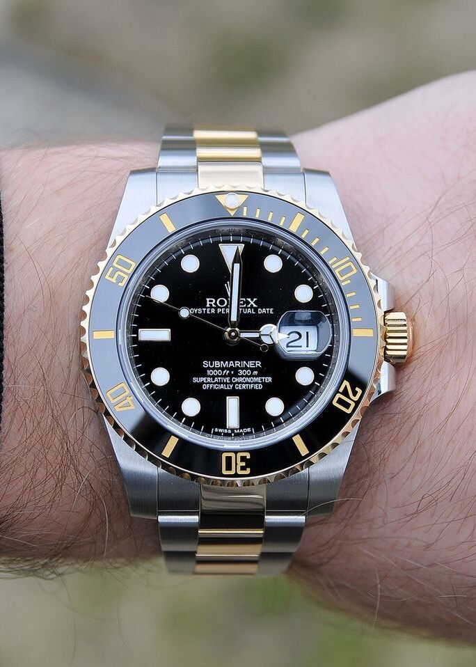 Rolex Submariner Gold 116613ln Either This Or The Two Tone Gmt