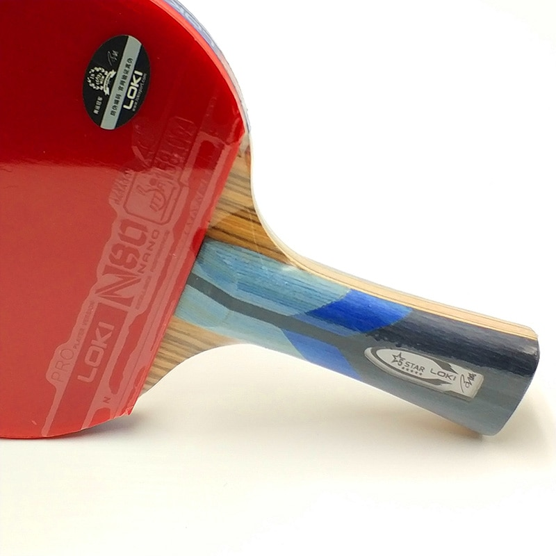 Aliexpress Com Buy Loki 5 Star Zebra Wood Carbon Table Tennis Racket Professional Pingpong Bat Fast Attack Table Tennis Racket Table Tennis Ping Pong Paddles
