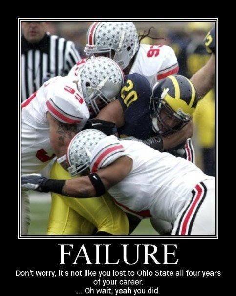 Ohio State Michigan Jokes And Funny Pics Ohio State Buckeyes Funny Ohio State Michigan Ohio State Vs Michigan