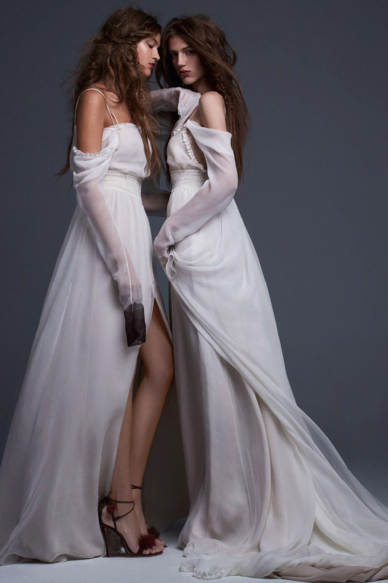 Exclusive Get A First Look At Vera Wang Bride Fall 2017 Wedding