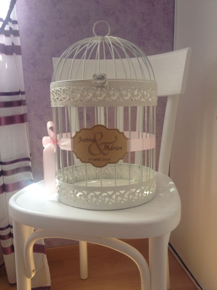 Cage à oiseaux version urne