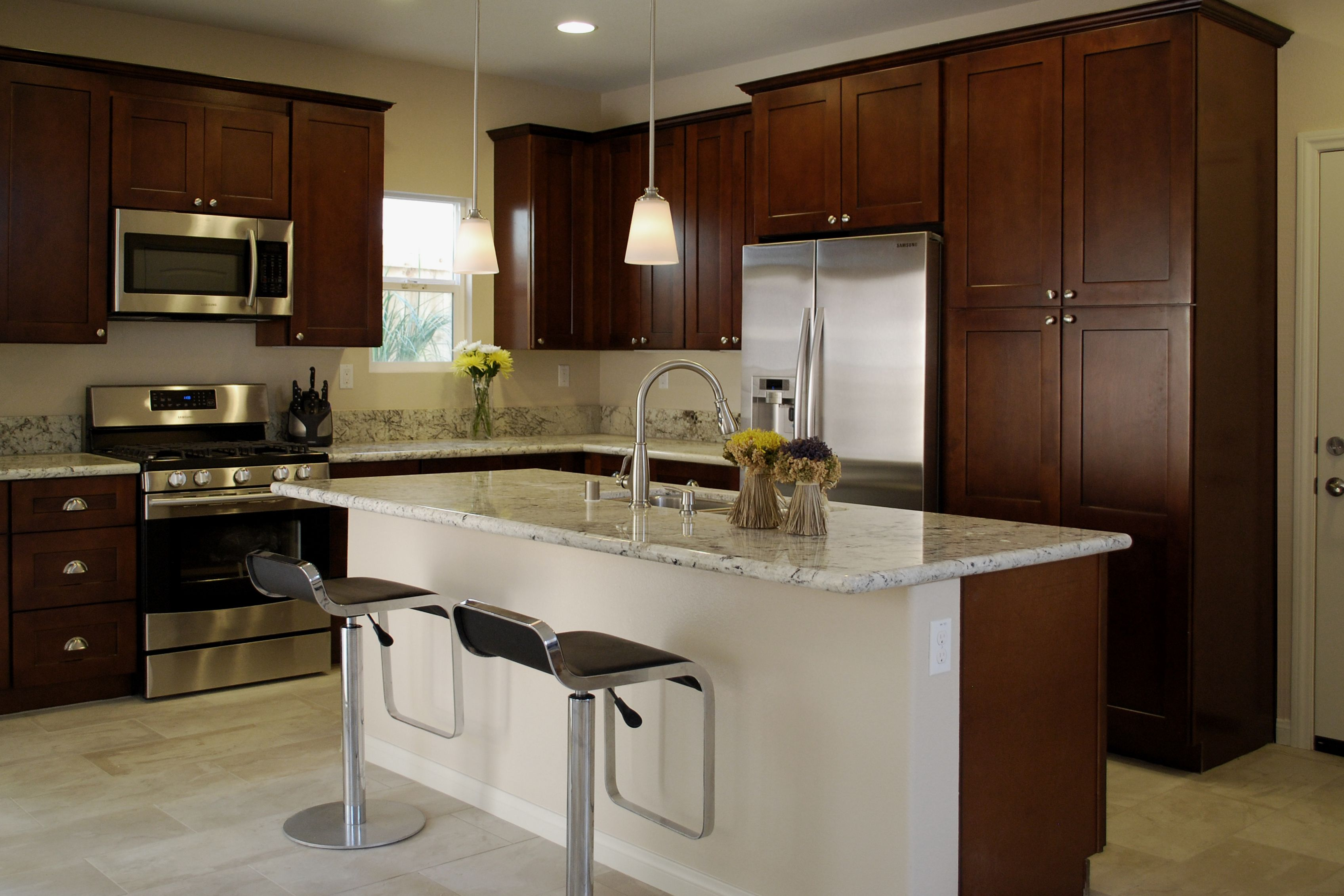 In A Season Where Black And White Are The Choice Of Colors For Wood Kitchen  Cabinets