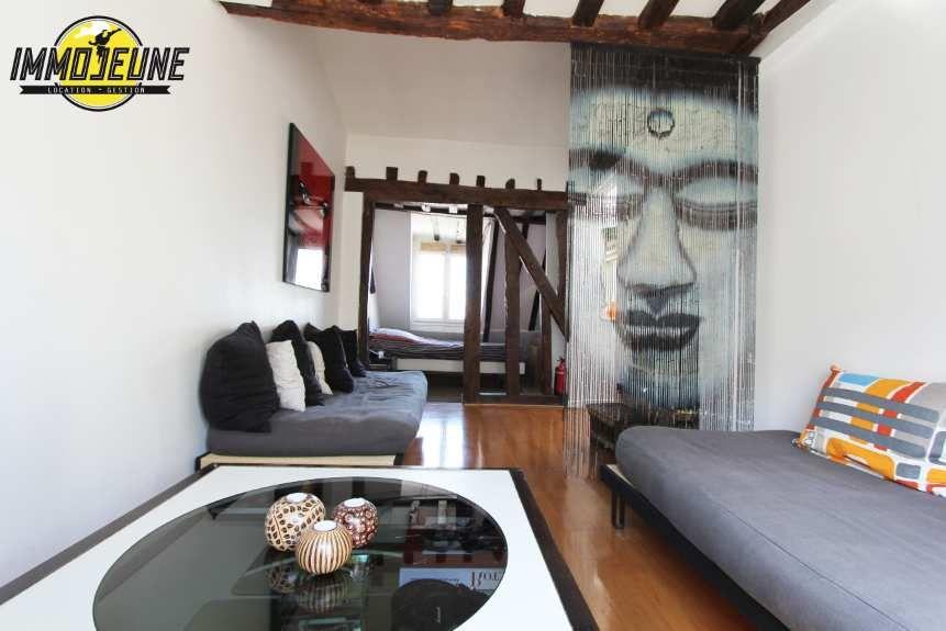 Magnifique studio meubl de 30m en plein c ur de paris 75003 immobilier colocation https - Recherche studio meuble paris ...