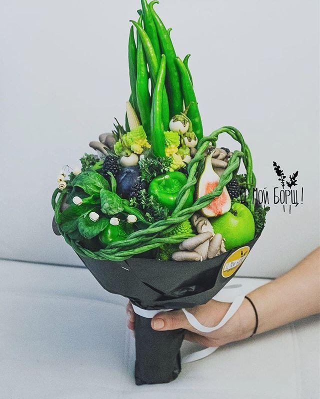 Photo of Post di Instagram di ?Букеты из овощей и фруктов? • 12 febbraio 2017 alle 12:37 UTC